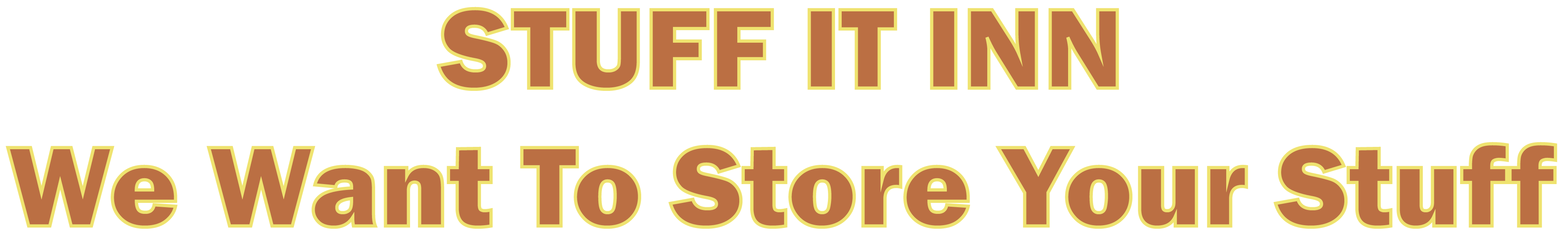 Stuff It Inn - We Want To Store Your Stuff