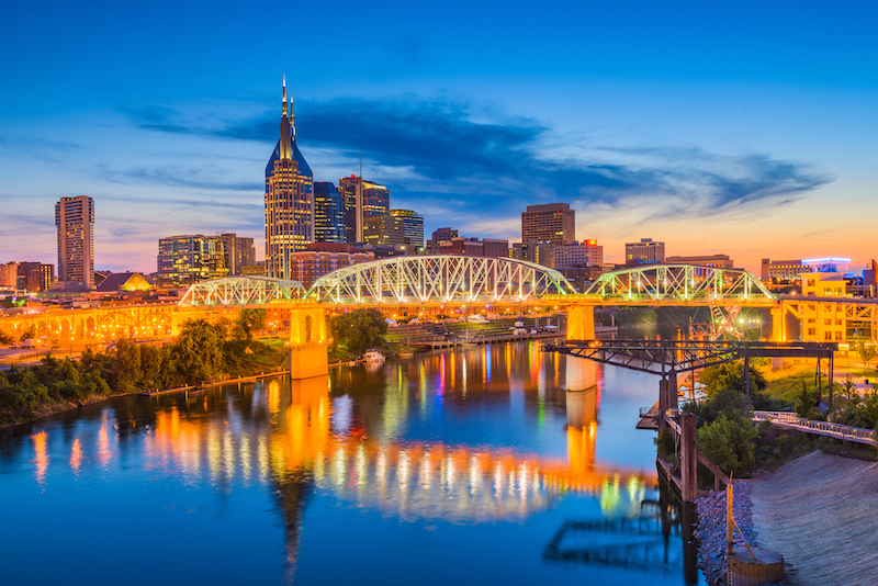 Top Cities People Move to Nashville Self Storage Units