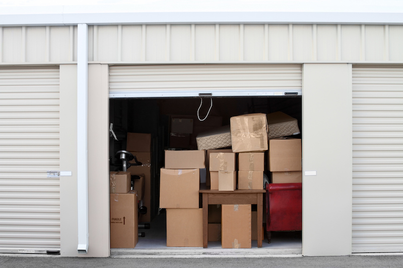 self storage unit size guide in Tennessee